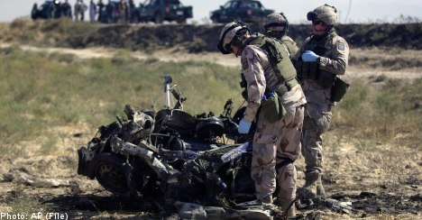 More attacks on Swedish troops in Afghanistan