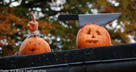 Halloween magic fails to bewitch Sweden