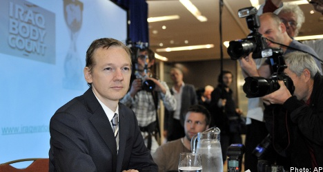 Swedish arms surface in new WikiLeaks logs