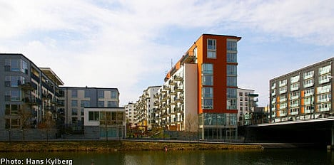 Swedish apartment construction takes off