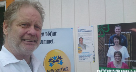 'Wrong' Björn Andersson elected to local Swedish council