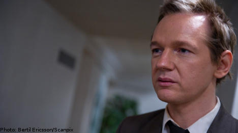 WikiLeaks founder: I'm going to sue Sweden