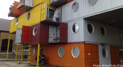 Containers proposed as student housing solution