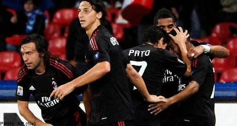 Zlatan gets in furious scuffle with teammate