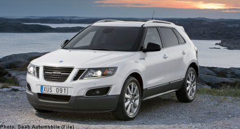 Saab unveils new 9-4X in Los Angeles