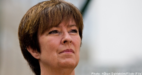 Mona Sahlin: I was not forced out