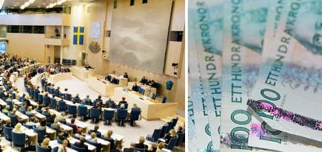 Swedish MPs enjoy election income boost