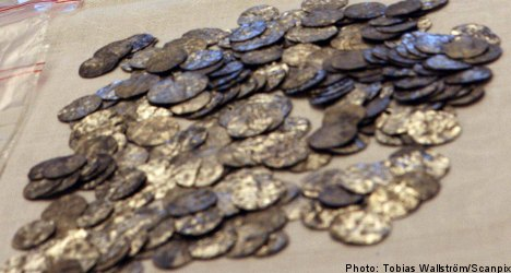 Stolen silver treasure recovered on Gotland