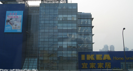 Sweden's Ikea to double Chinese stores by 2015