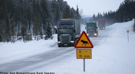 Southern Swedes told to stay off the roads