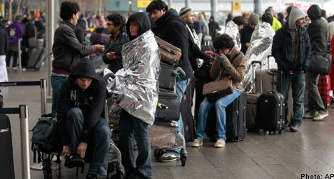 Thousands of Swedes trapped in flight chaos
