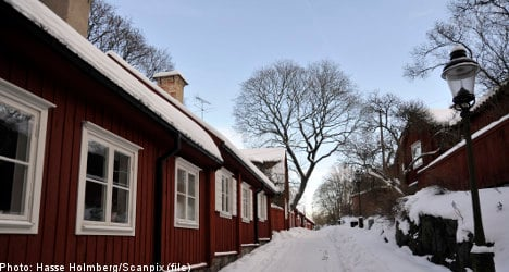 Sweden's mortgage cap keeps out new buyers