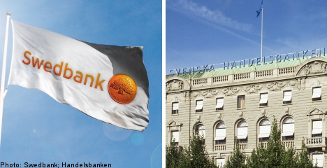 Swedish watchdog fines two banks over funds
