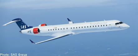 SAS shares extend gains on sale speculation