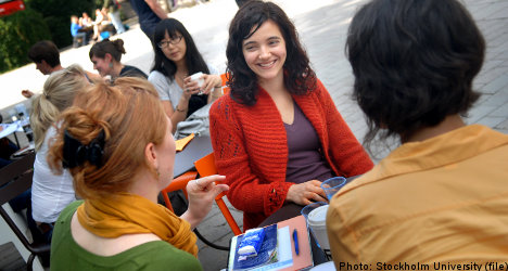 Stockholm University still attractive option for foreign students