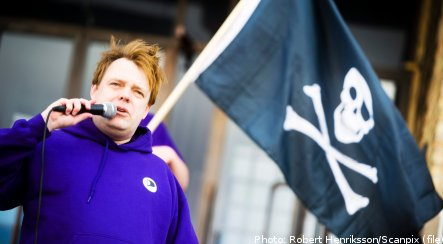 Leader of Sweden's Pirate Party resigns