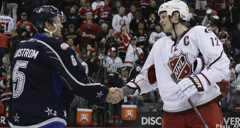 Lidström captains NHL all-star squad to victory
