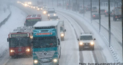 Blizzards ahead for much of Sweden