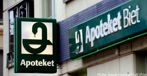 Swedish state pharmacies still enjoy 'special position': report