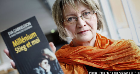 Stieg Larsson's brother hits back at book claims