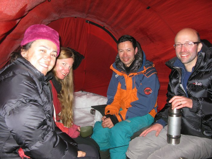Guests in the Tent Photo: Outdoor Lapland
