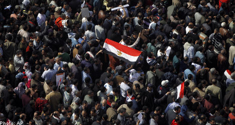 ABB closes Egypt factories over unrest