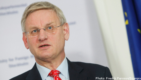 Embassy closures can't be avoided: Bildt