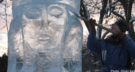 Ice Festival brings winter warmth to Uppsala