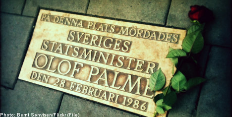 Swedes reflect on the death of Olof Palme