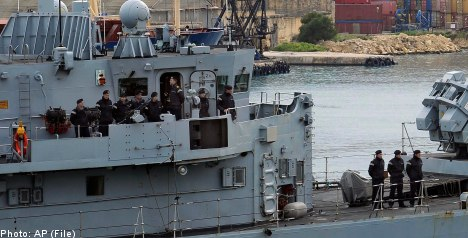 Swedes evacuated to Malta from Libya