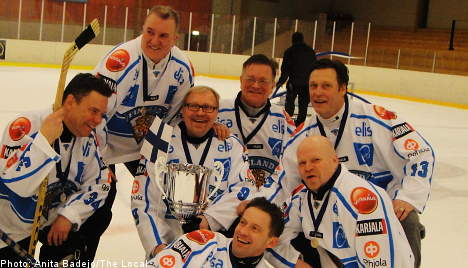 Finland wins diplomatic hockey tournament in Stockholm
