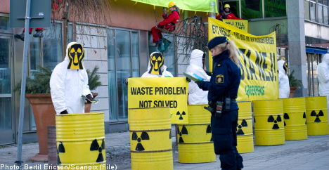 Swedes oppose new nuclear power: poll