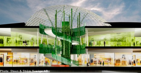 Malmö braces for Scandinavia's largest shopping mall