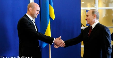 Putin in Sweden: visa rules to be eased