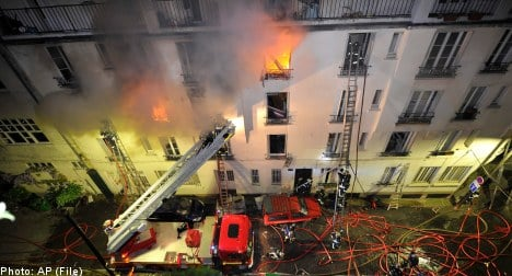 Two Swedes among Paris fire victims