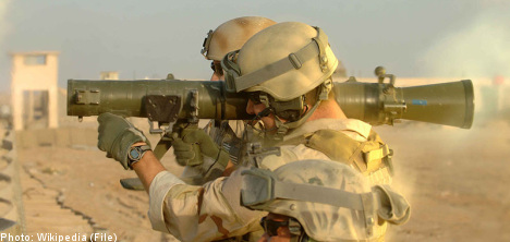 Arms spending slows: Swedish think tank