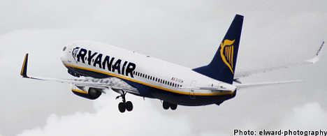 Ryanair forced to make Stockholm security stop