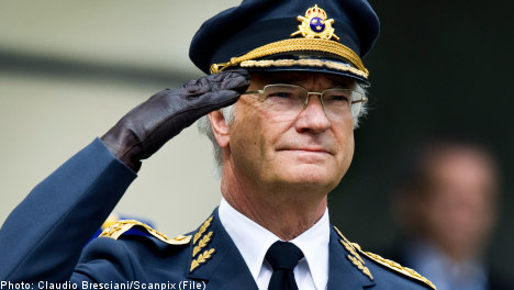 Swedish king rules out retirement