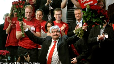 Poll: Social Democrats Sweden's largest party