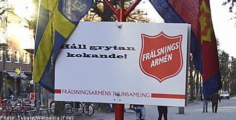 'Being gay is a sin': Swedish Salvation Army