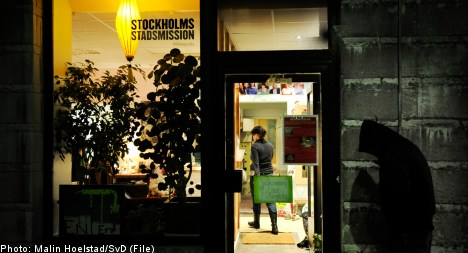 More EU citizens join the ranks of Stockholm's homeless