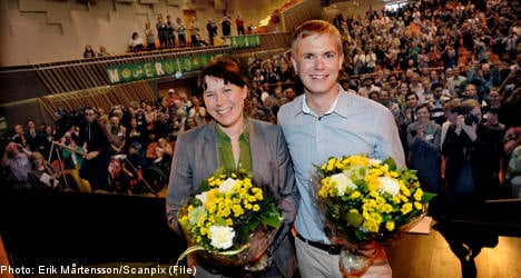 New Green Party chiefs bring poll success
