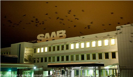 Saab lacks funds to pay staff wages