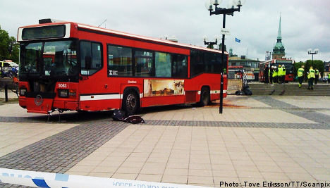 'Nothing wrong' with bus in Stockholm crash