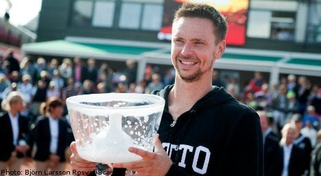 Robin Söderling claims Swedish Open title