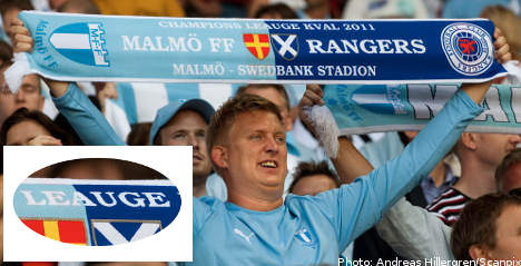 Champions League typo yields PR win for Malmö