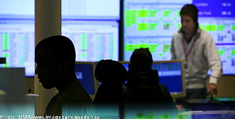 Stockholm stock market in shaky opening