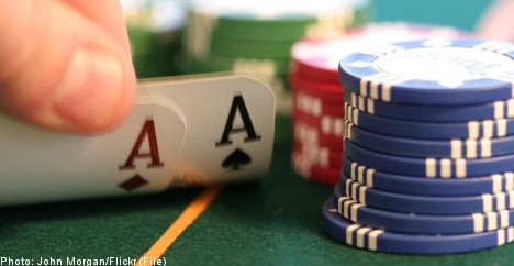 One in ten young Swedish men addicted to gambling: study
