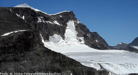 Two injured in fall on Sweden's highest peak