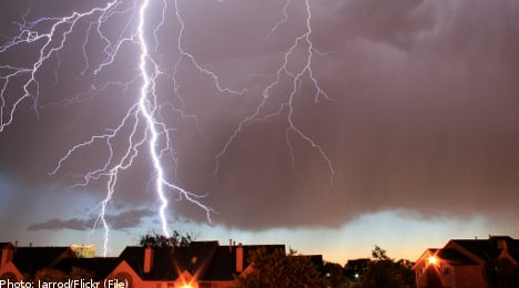 Extreme weather on the rise in Sweden: SMHI